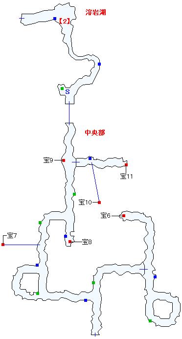 ノール灼洞マップ画像(2)