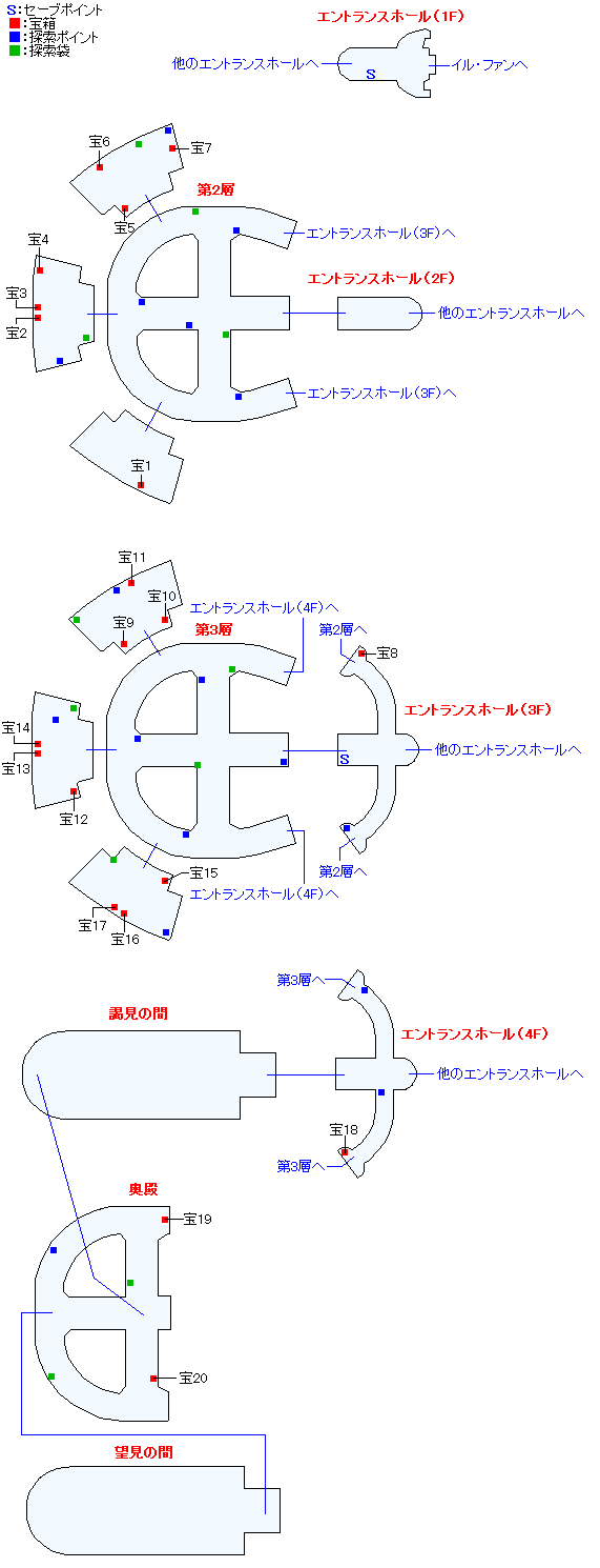 オルダ宮マップ