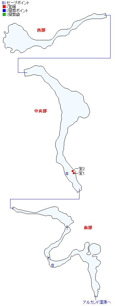 マップ画像・ファイザバード沼野