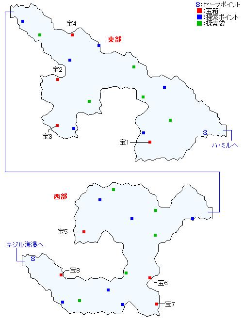 ガリー間道マップ画像