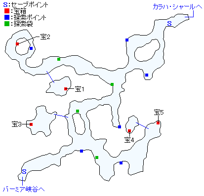 クラマ間道マップ
