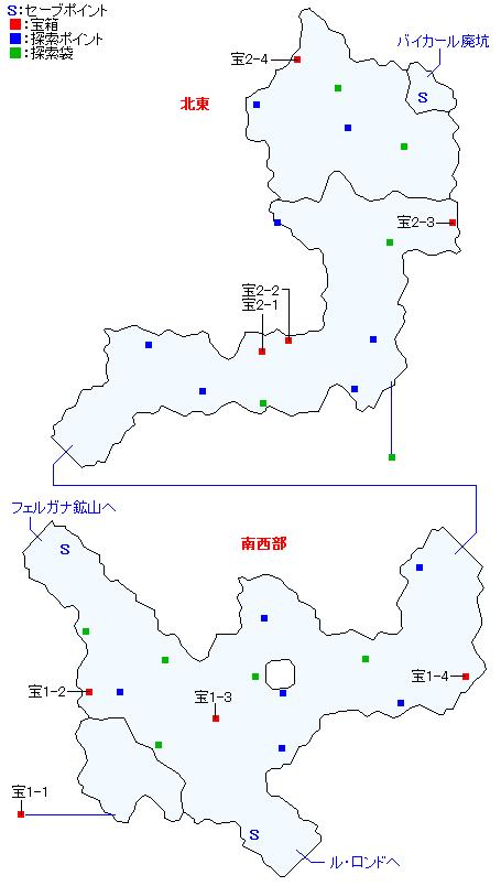 マップ画像・ボルテア森道