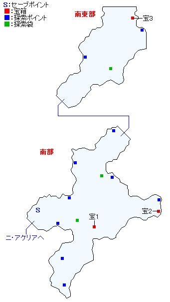 マップ画像・ソグド湿道(精霊界)