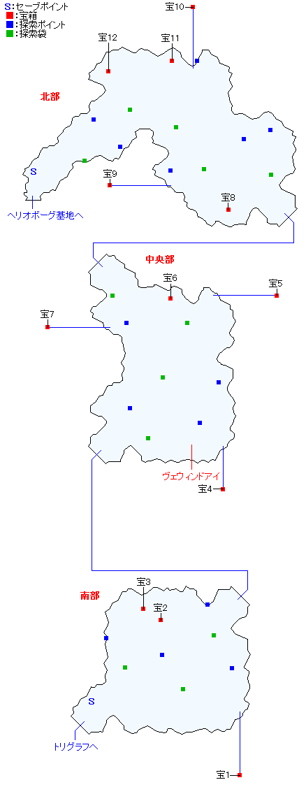 トルバラン街道マップ画像