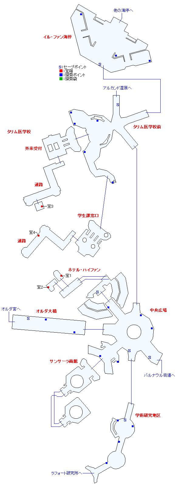 マップ画像・イル・ファン(ミラ編)