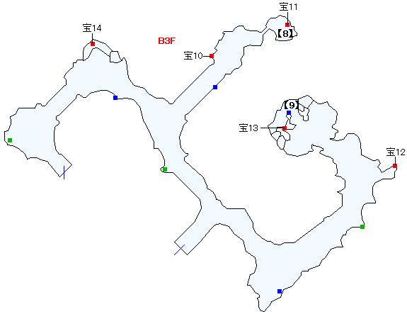 タタール冥穴マップ画像(4)