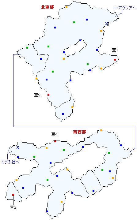 ニ・アケリア参道(分史)マップ画像