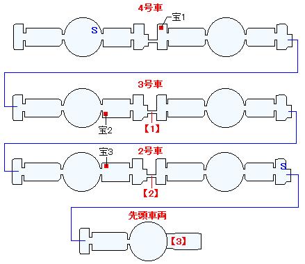 ストリボルグ号(分史世界)マップ画像