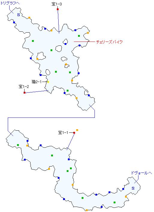 エラール街道(正史世界)マップ画像