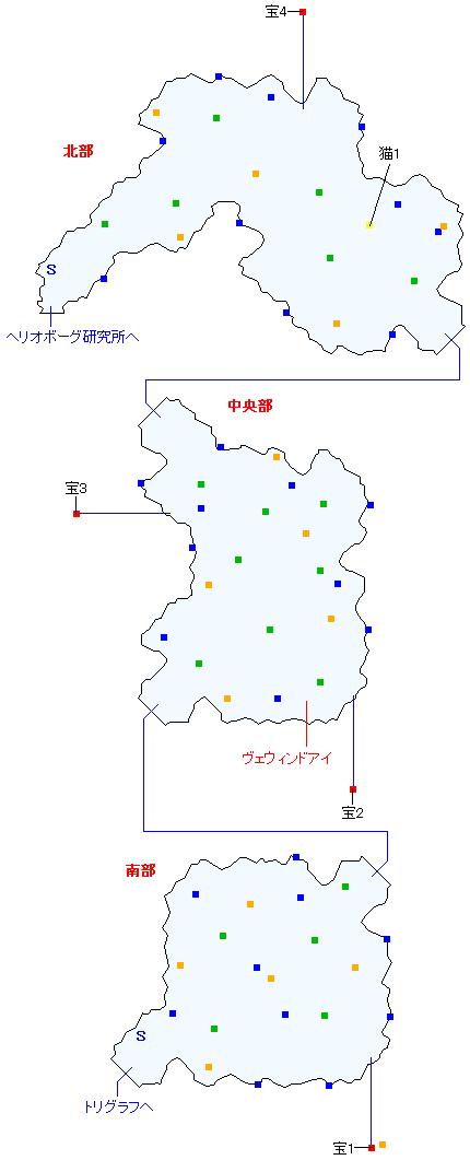 トルバラン街道(正史世界)マップ画像