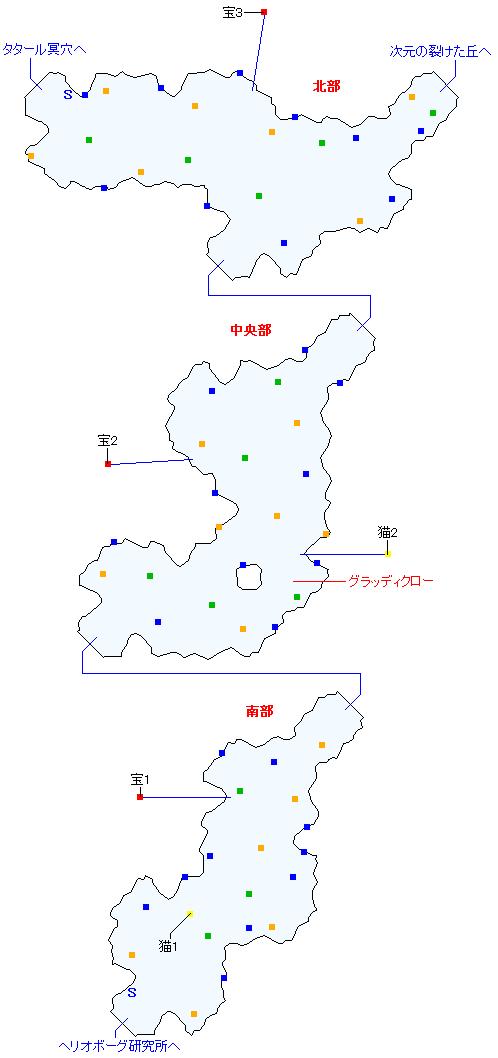 ルサル街道(正史世界)マップ画像