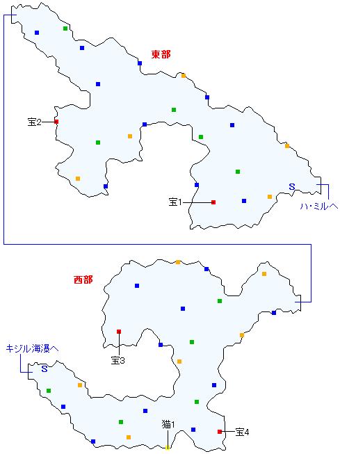 ガリー間道(正史世界)マップ画像