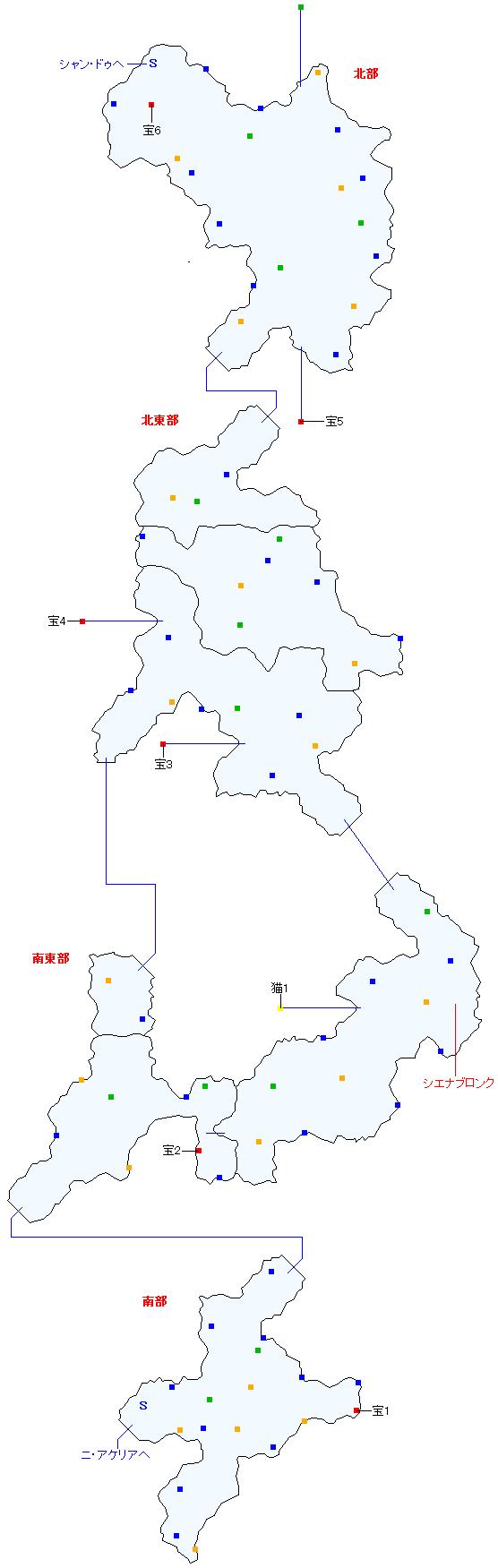 ソグド湿道(正史世界)マップ画像