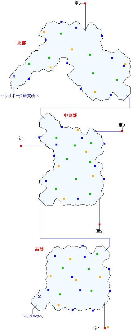 トルバラン街道(分史世界)マップ画像