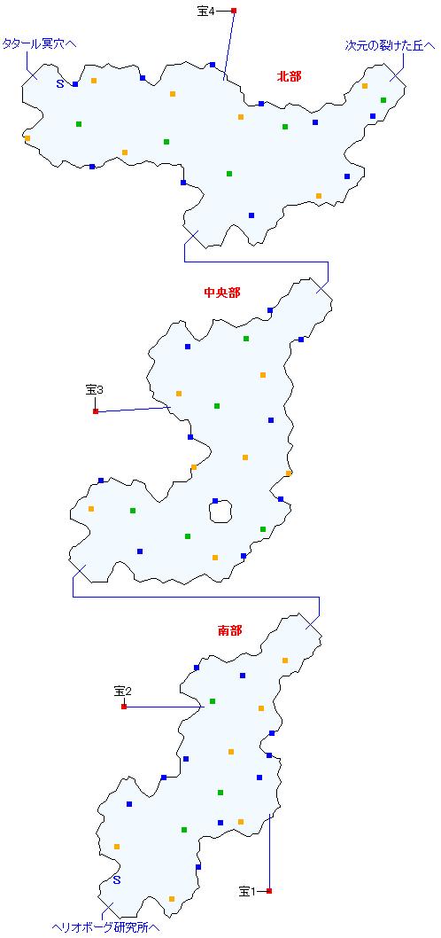 ルサル街道(分史世界)マップ画像