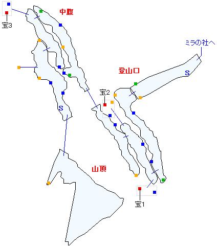 ニ・アケリア霊山(分史世界)マップ画像