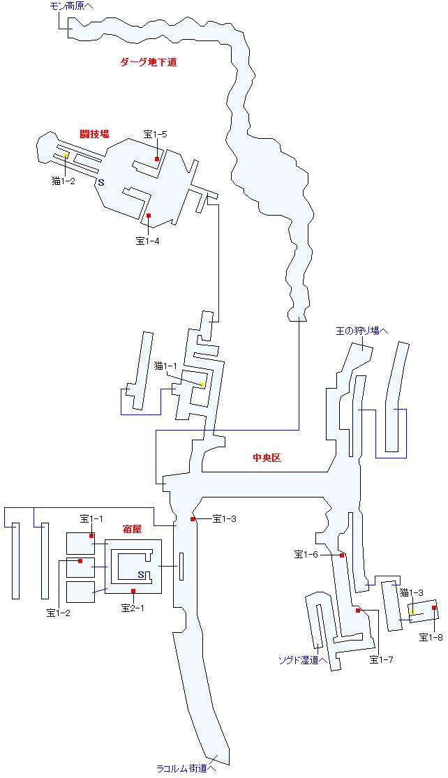シャン・ドゥ(正史世界)マップ画像