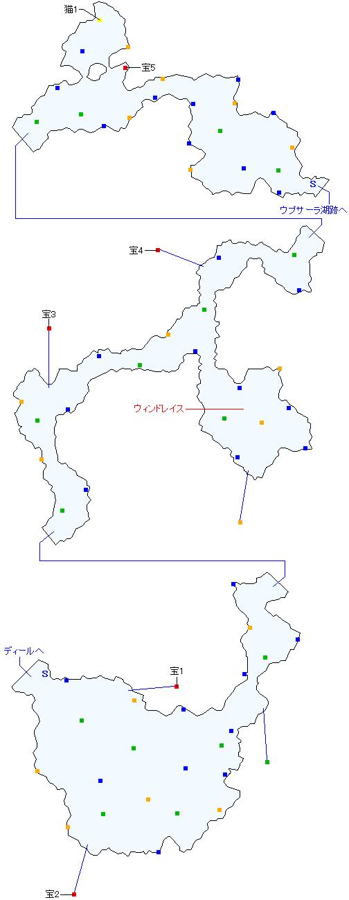 カタマルカ高地(正史世界)マップ画像