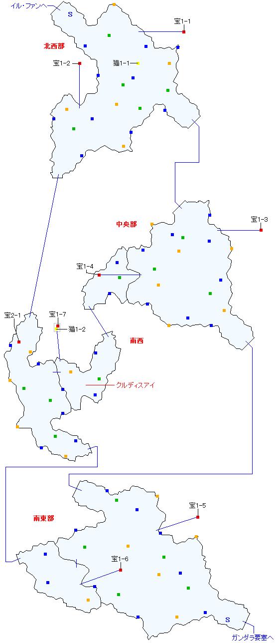 バルナウル街道(正史世界)マップ画像
