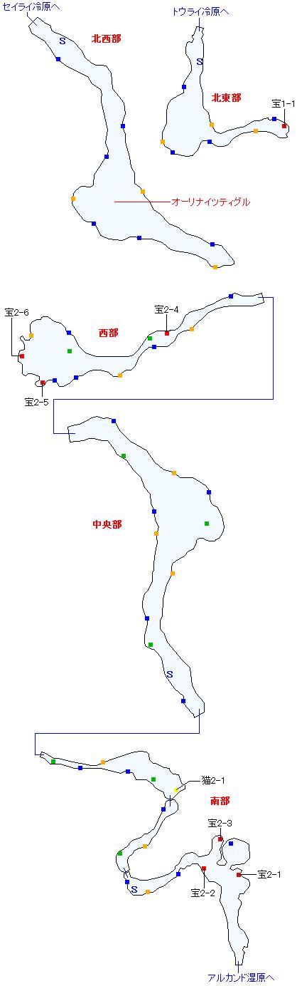 ファイザバード沼野(正史世界)マップ画像