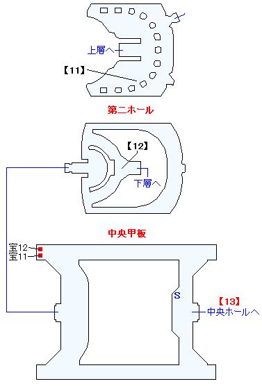 旅船ペリューン(正史世界)マップ画像(7)