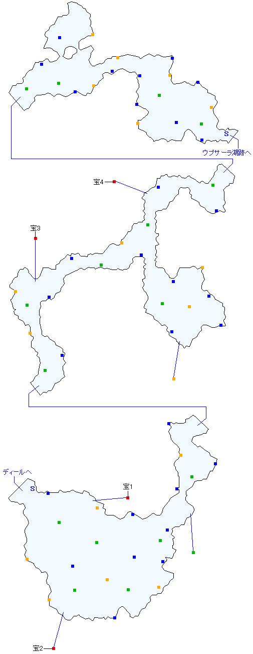 カタマルカ高地(分史世界)マップ画像