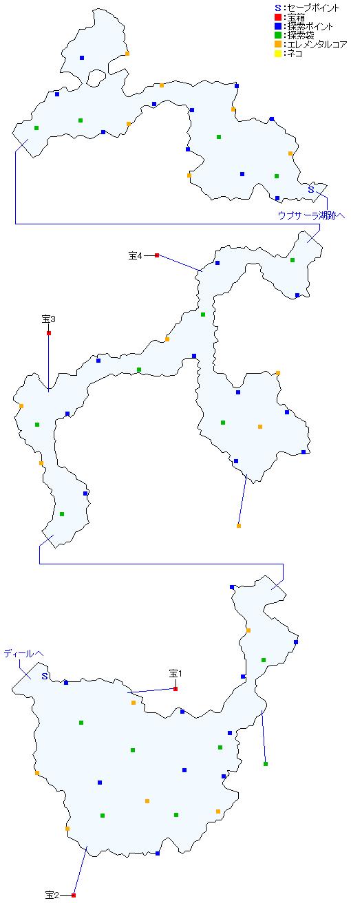 マップ画像・カタマルカ高地(分史世界・チャプター10&チャプター12)