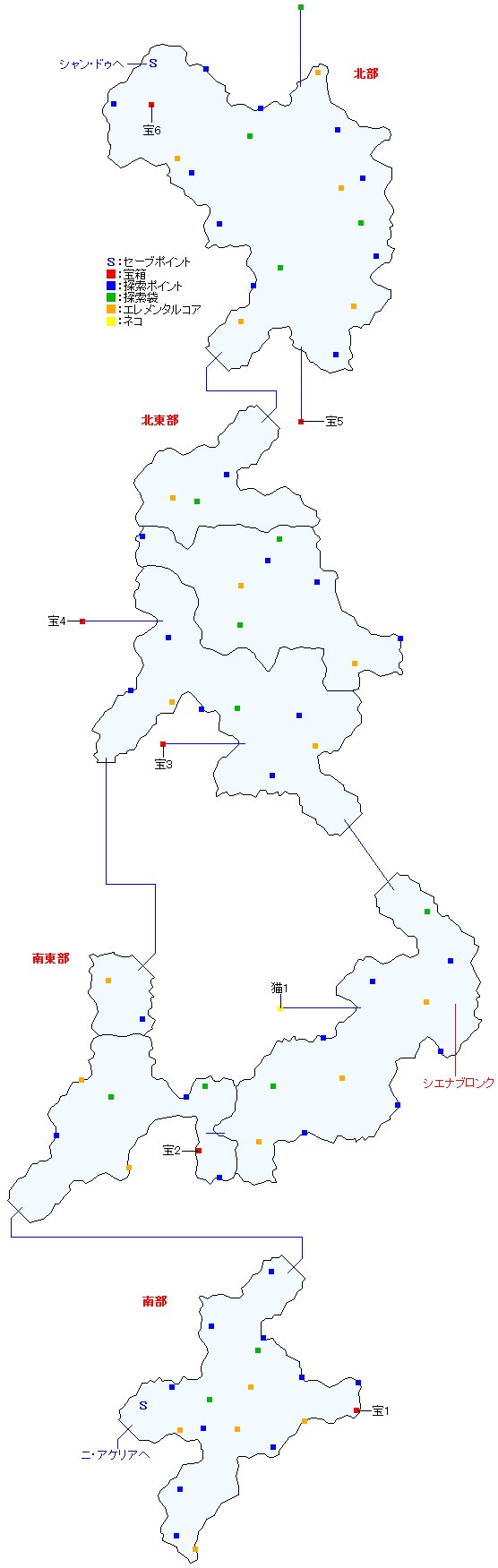 ソグド湿道マップ