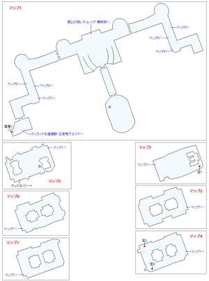 ラウドテブル王宮マップ