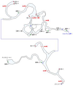 霊峰レイフォルクマップ
