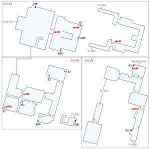 ダムノニア美術館マップ