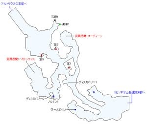 始まりの村カムランマップ