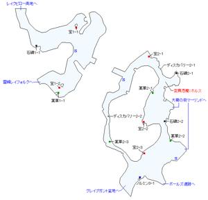 フォルクエン丘陵マップ