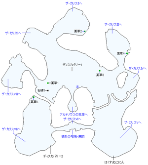 カースランド島マップ