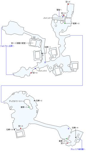 大樹の街マーリンドマップ